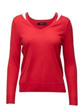 Mango Neck Cut-Out Sweater 15266885
