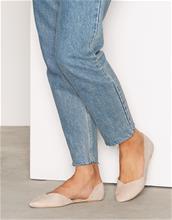 NLY Shoes Pointy Ballerina Ballerinat Beige