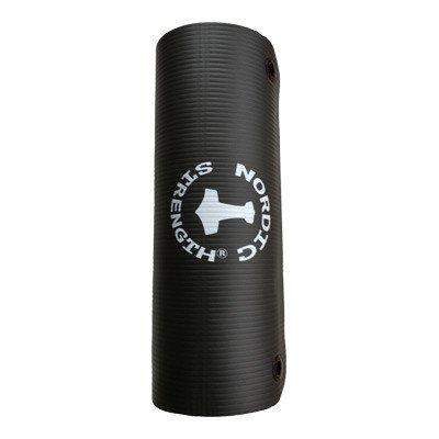 Mustat Jumppa-matot ripustusrenkailla (12-30 kpl)