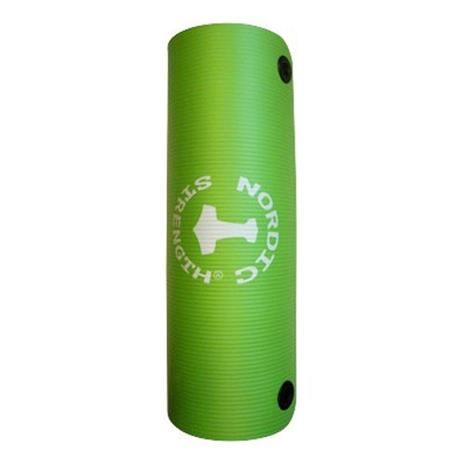 Vihreät Jumppa-matot ripustusrenkailla (12-30 kpl)