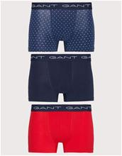 Gant 3-Pack Trunk Hearts Cotton Stretch Bokserit Navy