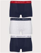 Gant 3-Pack Trunk Star Cotton STR Bokserit Navy