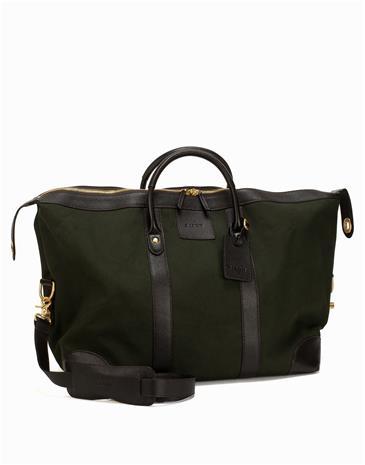 Baron Weekend Bag Canvas Laukut Green