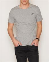 Nike Sportswear Tee Club Embroided T-Shirt T-paidat ja topit Dark Grey