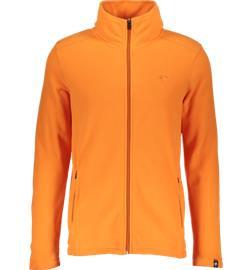 Cross Sportswear SO MICRO FLEECE M JAFFA ORANGE