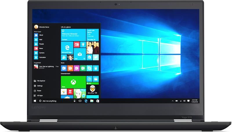 """Lenovo ThinkPad Yoga 370 20JH002PMS (Core i5-7200U, 8 GB, 256 GB SSD, 13,3"""", Win 10 Pro), kannettava tietokone"""