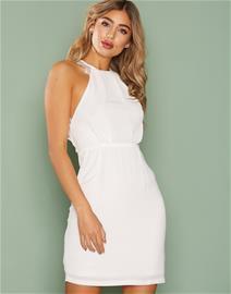 NLY One Crepe Lace Dress Kotelomekot Valkoinen f71710e2c7