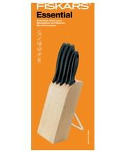 Fiskars Essential 1023782, veitsiteline ja 5 veistä