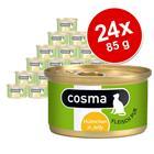 Cosma Original hyytelössä -säästöpakkaus 24 x 85 g - kana