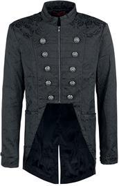 KuroNeko Victorian Coat Mantteli musta