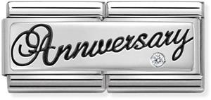 Nomination SilverShine double 330730-03 Anniversary