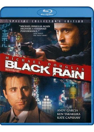 Musta sade (Black rain, Blu-ray), elokuva