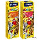 Vitakraft Kräcker -papukaijankeksit - 2 x hunaja & eukalyptus