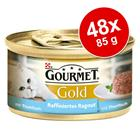Gourmet Gold Ragout 48 x 85 g - nauta