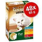 Gourmet Gold -säästöpakkaus pussiruoat 48 x 85 g - Gravy Collection
