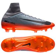 Nike Mercurial Veloce III DF CR7 Chapter 4 FG - Harmaa/Oranssi