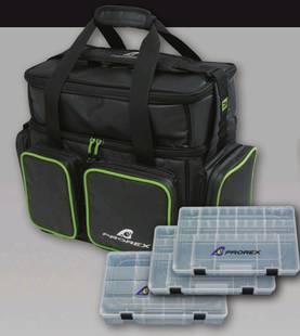 Daiwa Prorex Lure Bag XL kalastuslaukku 2 + 1 rasiaa