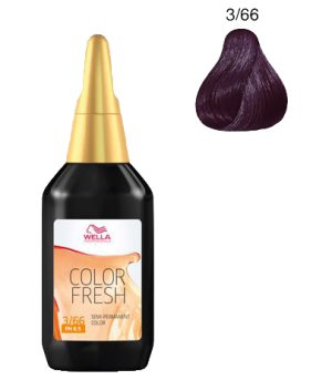 Color Fresh 75 ml 3/66 Dark Intensive Violet Brown
