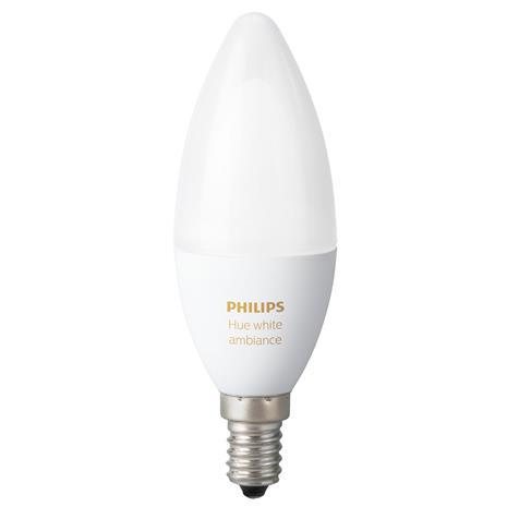 Philips Hue White Ambiance 6 W E14, älyohjattava lamppu