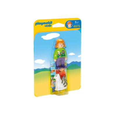 Playmobil 6975, nainen ja kissa