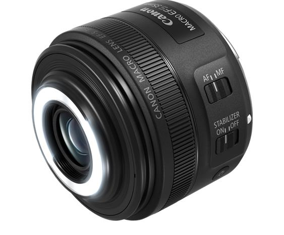 Canon EF-S 35mm f/2.8 Macro IS STM, objektiivi