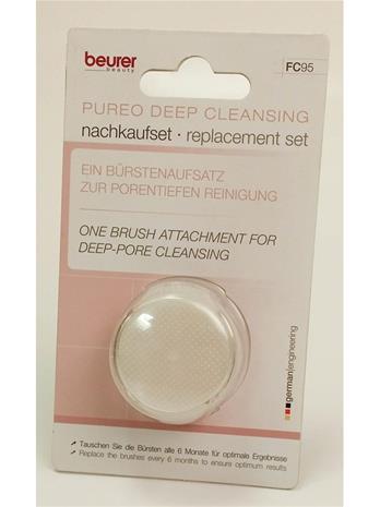 Beurer FC 95 Pureo Deep Cleansing facial brush, harjaosa syväpuhdistava