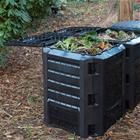 Nature 6071483, kompostisäiliö musta 1200 L