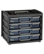 Raaco 55X4 Handy Box lokerikkosetti