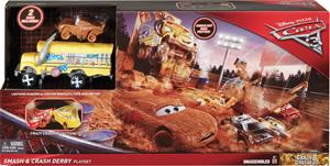 Disney Autot (Cars) 3, Crazy 8 Fire Barrel -leikkisetti