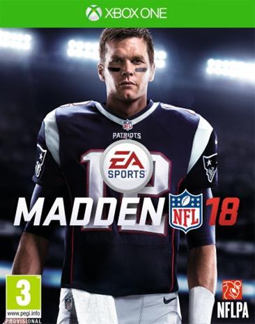 Madden NFL 18, Xbox One -peli