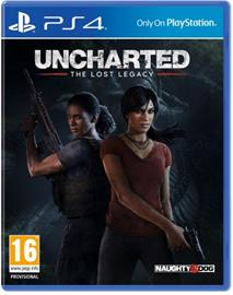 Uncharted: The Lost Legacy, PS4-peli
