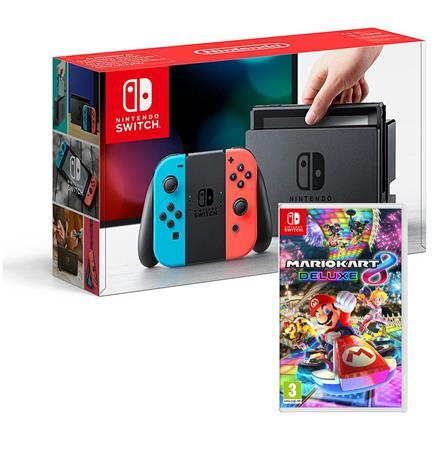 Nintendo Switch + peli, pelikonsoli