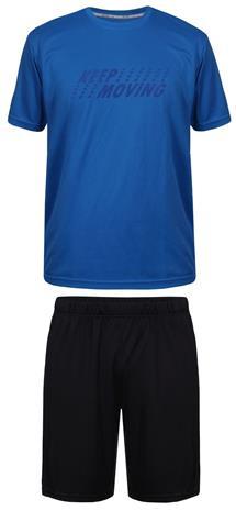 LAPLANDIC Match miesten T-paita-shortsisetti