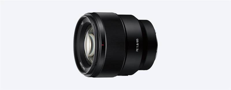 Sony FE 85mm F1.8 (SEL85F18), objektiivi