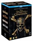 Pirates of the Caribbean: 1-5 (blu-ray), elokuva