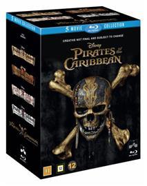 Pirates of the Caribbean: 1-5 (blu-ray), elokuva