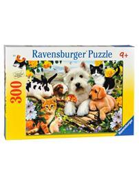 Ravensburger palapeli, Animal friends, 300 palaa