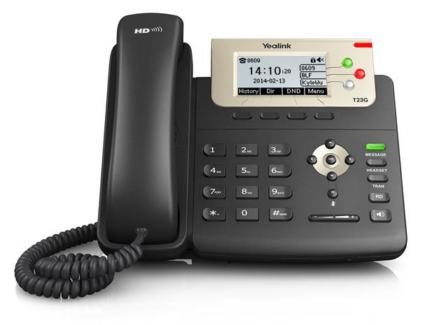 Yealink SIP-T23G, IP-puhelin