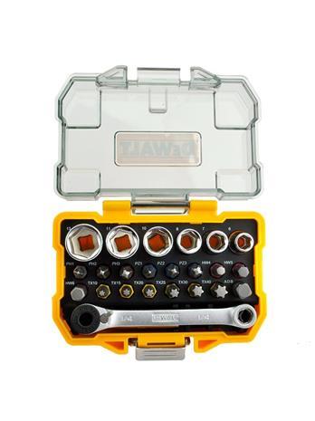 Dewalt 1/4-Inch Socket and Screwdriver Set DT71516 24 pcs