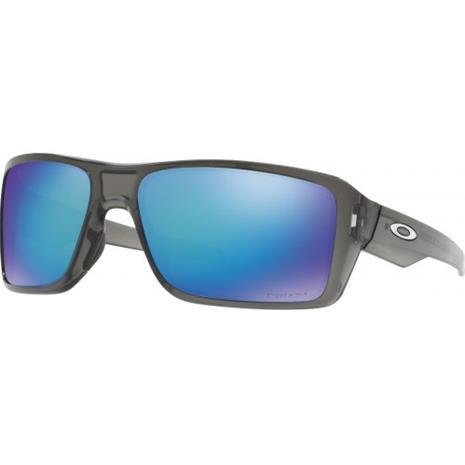 Oakley Double Edge, Grey Smoke w/ Prizm Sapphire Polarized