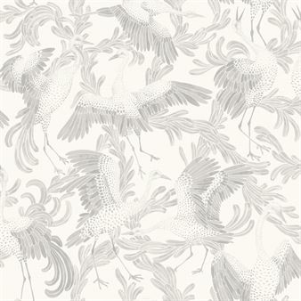 Engblad & Co Dancing Crane tapetti beige