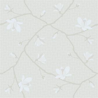Boråstapeter Magnolia Jubileum tapetti beige