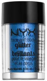 NYX Professional Makeup Face& Body Glitter- Gunmetal
