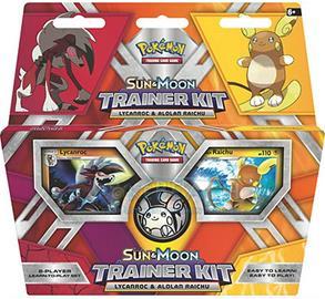 Pokémon: Sun & Moon Trainer Kit -Lycanroc & Alolan Raichu KORTTI