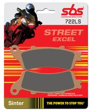 SBS 23-722LS Street Excel Sintered jarrupalat taakse