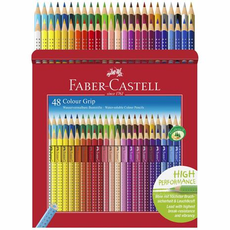 Faber-Castell - Colour Pencils - Cardboard Box - 48 pcs. (112449)