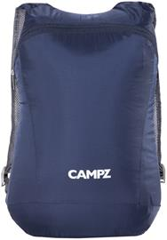 CAMPZ erikoiskevyt taitettava reppu reppu 12l , sininen