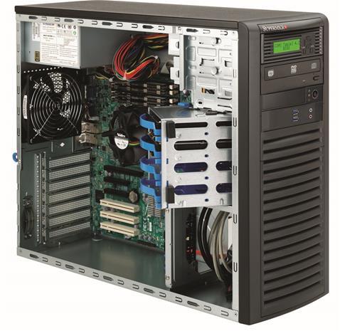 Supermicro SC732D3-903B, kotelo + 900W virtalähde