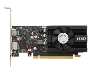 MSI GeForce GT 1030 2G LP OC 2 GB, PCI-E, näytönohjain