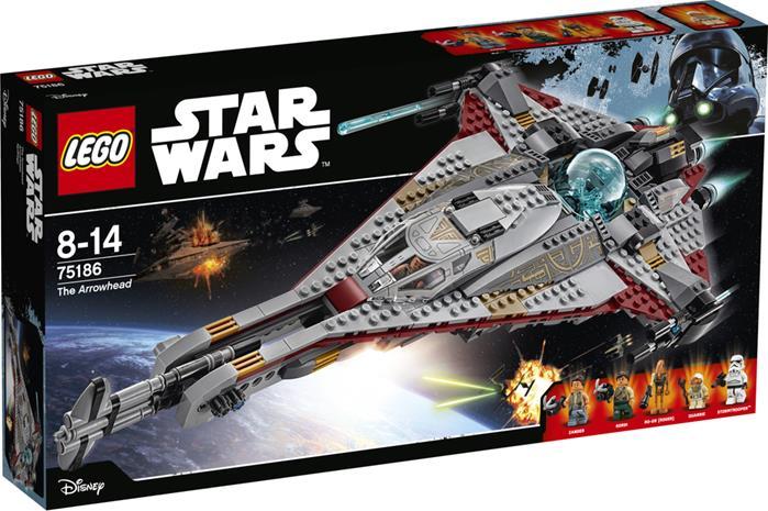 Lego Star Wars 75186, The Arrowhead